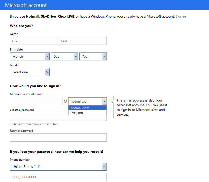 Hotmail Login/Signin Techniques to be Secure
