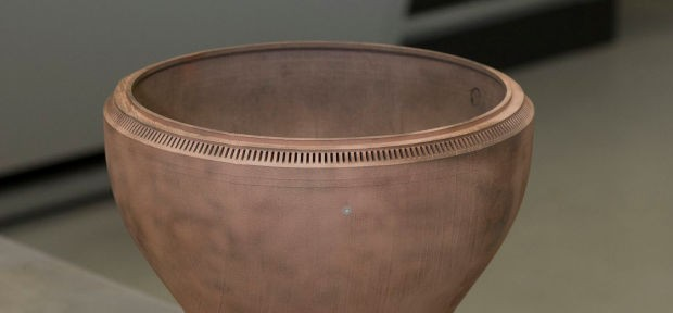 First 3D-printed copper rocket engine part is here